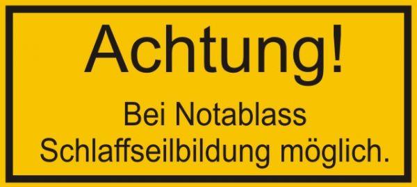 1074 Achtung bei Notablass