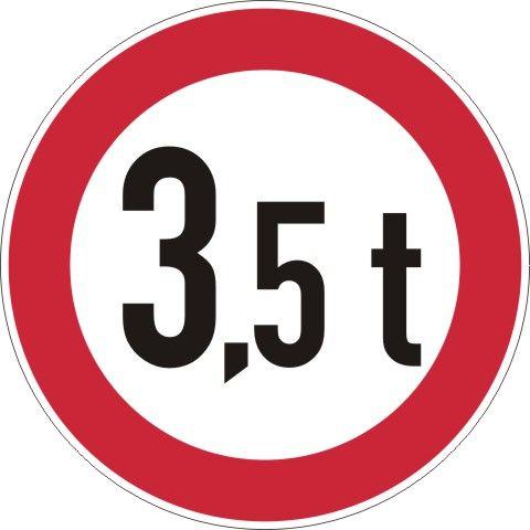 0262 Verbot über bestimmtes Gesamtgewicht