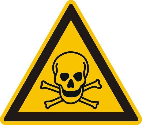 4303 Warnung vor giftigen Stoffen