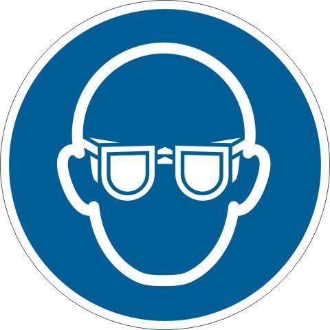 4100 Augenschutz tragen
