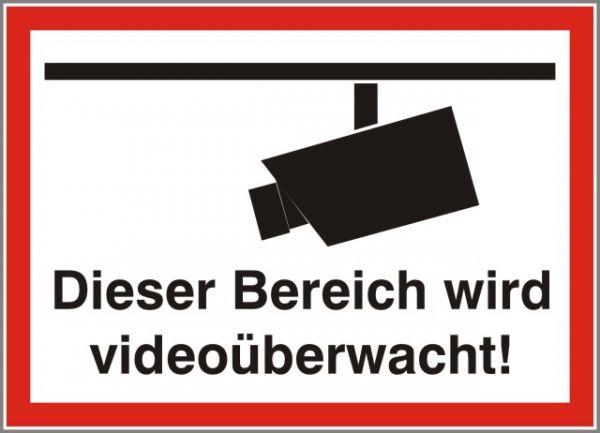 1741 Dieser Bereich wird videoüberwacht