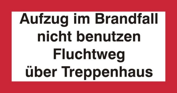 1023 Brandfall / Treppenhaus