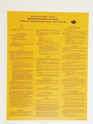 1042 Betriebsvorschriften f. Krane