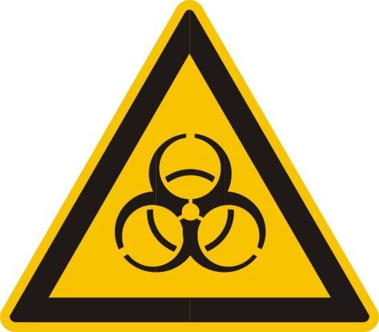 4317 Warnung vor Biogefährdung
