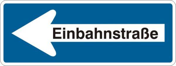 0221 Einbahnstraße linksweisend