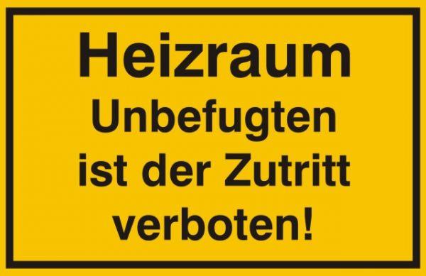 1809/1 Heizraum Zutritt verboten