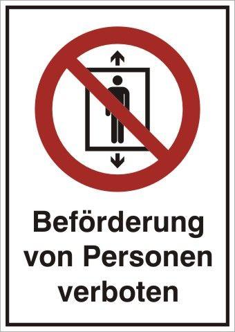 1010 Beförderung von Personen verboten