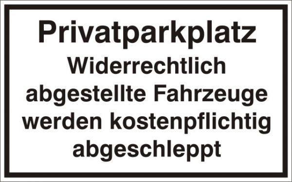 1909 Privatparkplatz