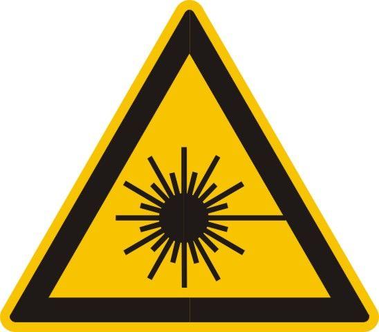 4311 Warnung vor Laserstrahl
