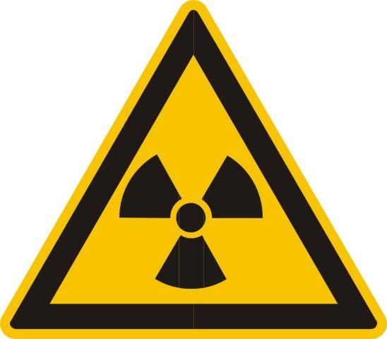4305 Warnung vor radioaktiven Stoffen