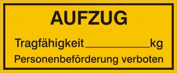 1007 Aufzug Personenbef. verboten