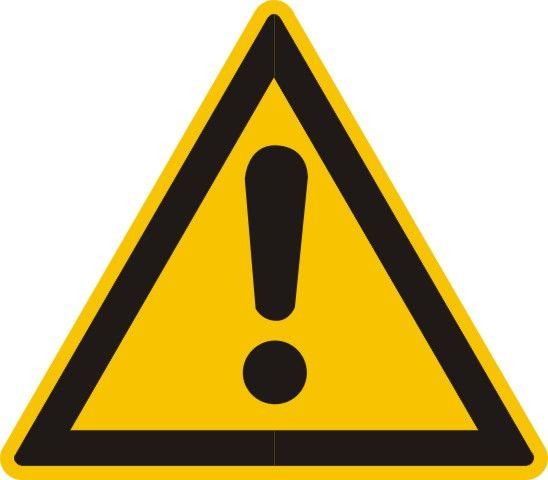 4309 Warnung vor einer Gefahrenstelle