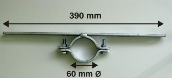 0410 Rohrschelle 60 Ø/ 390 mm