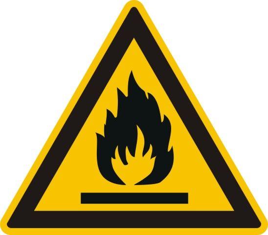 4301 Warnung vor feuergefährlichen Stoffen