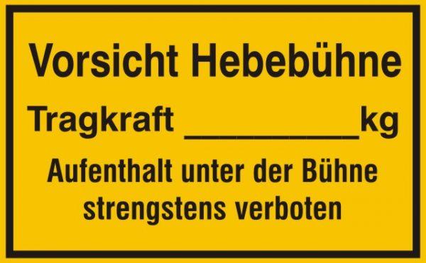 1045 Vorsicht Hebebühne