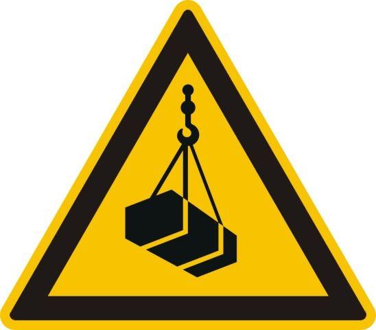 4306 Warnung vor schwebender Last