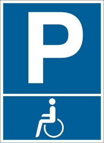 1925 Behinderten Parkplatz