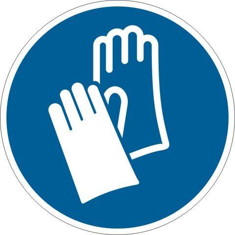 4105 Schutzhandschuhe tragen
