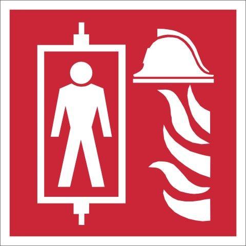 1021/2 Symbol Feuerwehraufzug