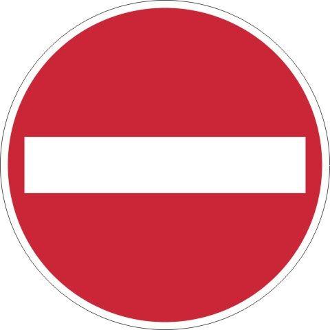 0267 Verbot der Einfahrt