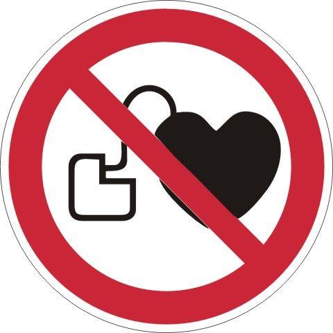 4217 Verbot f. Personen mit Herzschrittmacher