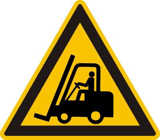 4307 Warnung vor Flurförderzeugen