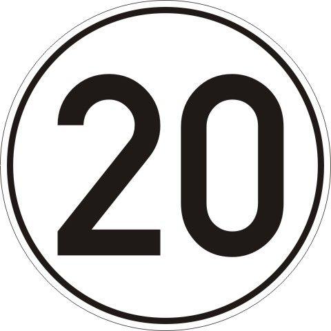 1923 Zulässige Höchstgeschwindigkeit
