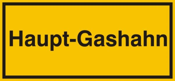 1351 Haupt-Gashahn