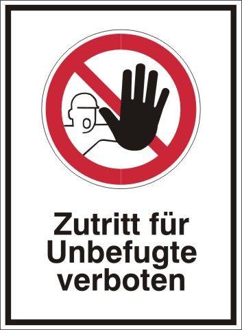 4242 Zutritt für Unbefugte verboten