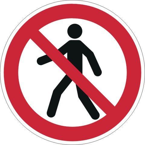4203 Für Fußgänger verboten