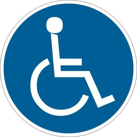 4110 Behinderten Symbol