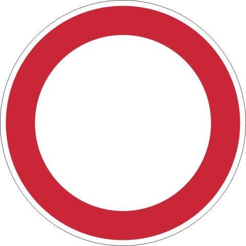 0250 Verbot für Fahrzeuge aller Art