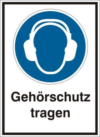 4121 Gehörschutz tragen