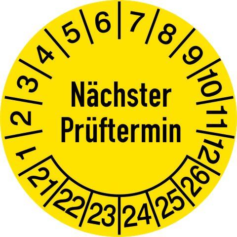 1161/1 Nächster Prüftermin